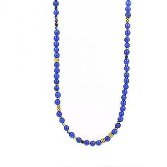 Collier et pendentif Les Interchangeables A59277   - Sautoir Bobo Chic Bleu  Femme