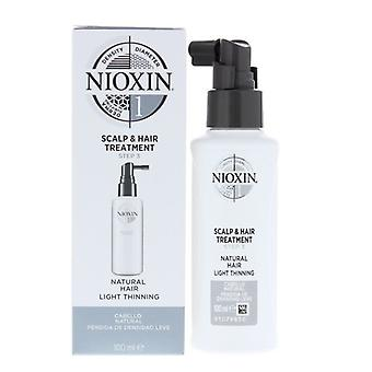 Behandling bepansra Nioxin (100 ml)