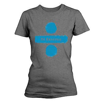 Ed Sheeran Divide Rock Official T-Shirt -Ladies