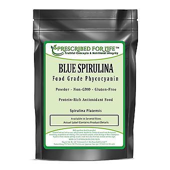 Espirulina azul - pó azul das algas do phycocyanin da classe alimentar (platensis do Arthrospira)