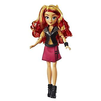 Min lille pony Equestria Piger Sunset Shimmer Classic Doll Doll 28cm
