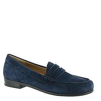 ARRAY Harper Women's Slip On 6 B(M) US Navy-Suede
