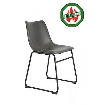 Light & Living Dining Chair 55x45x79cm Jeddo Fr Grau