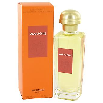 Amasone av Hermes Eau De Toilette Spray 3,4 oz/100 ml (kvinner)