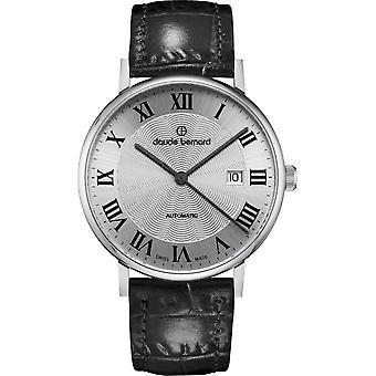 Claude Bernard - Wristwatch - Unisex - Slim Line Automatic - 80102 3 AR