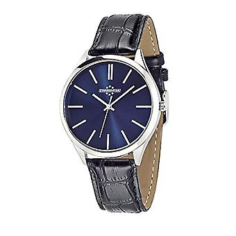 Chronostar Marshall-quartz with analog Display and black leather strap, R3751245002
