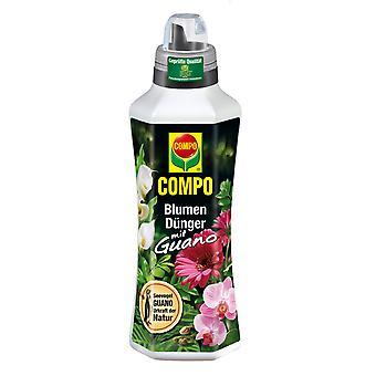 COMPO Kukkalannoite guanoa, 1 litra