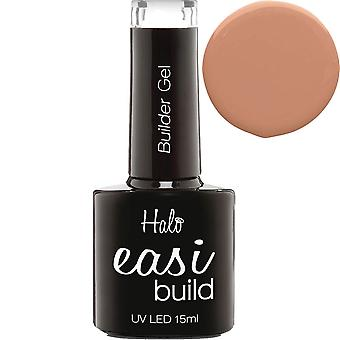 Halo gel nagels Halo EASI build LED/UV Builder gel collectie-cover up Peach 15ml (N3002)