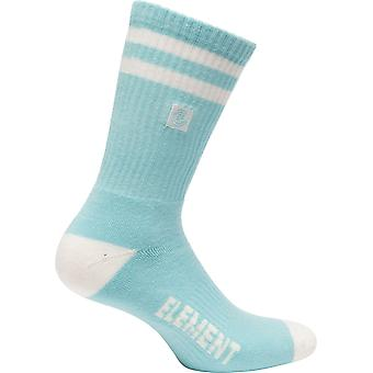 Element Athletic Socks ~ Clearsight canal blue