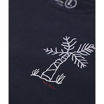 Universal Works Organic Cotton Palm Print Standard T-Shirt