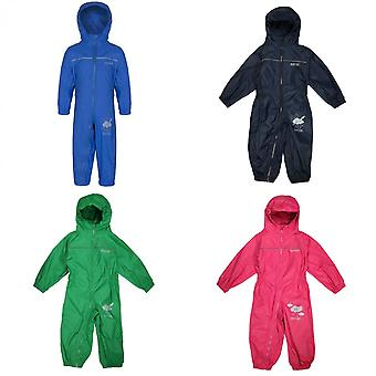 Regatta Great Outdoors Childrens Toddlers Puddle IV Waterproof Rainsuit