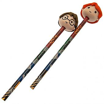 Harry Potter 3D Pencil Set (4 Piece)