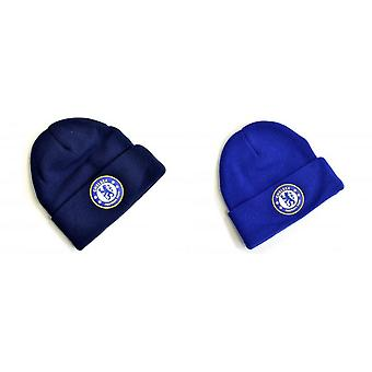 Chelsea FC Knitted Crest Turn Up Hat Chelsea FC Knitted Crest Turn Up Hat Chelsea FC Knitted Crest Turn Up Hat Chelsea FC