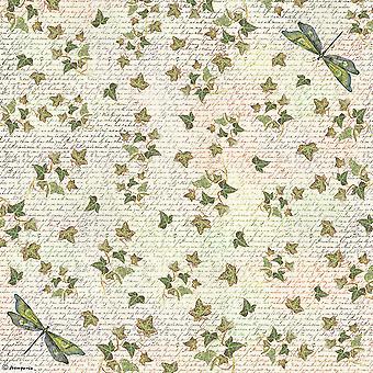 Stamperia Rice Paper Napkin 19.5