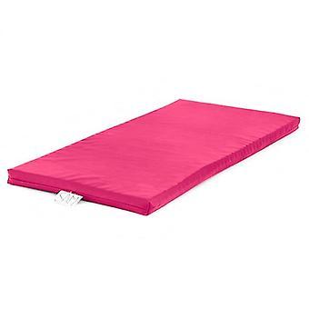 Roze Harper Nap Mat Kwekerij Soft Foam Gevuld Wipe Schoon faux leer