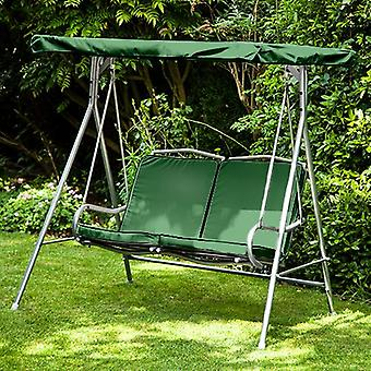 Green Replacement 2 Seater Canopy for Argos Malibu 2 Seater Garden Swing Seat