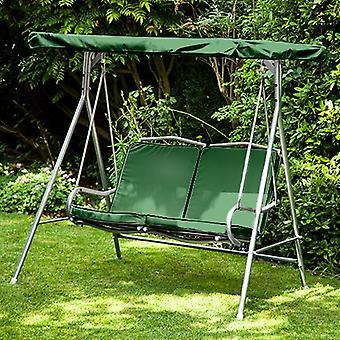 Green Replacement 2 Seater Canopy per Argos Malibu 2 Seater Garden Swing Seat