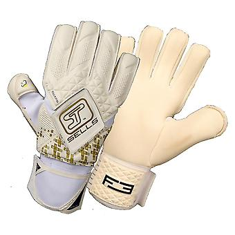 SELLS PRO F3 GOLD GUARD Goalkeeper Gloves Size