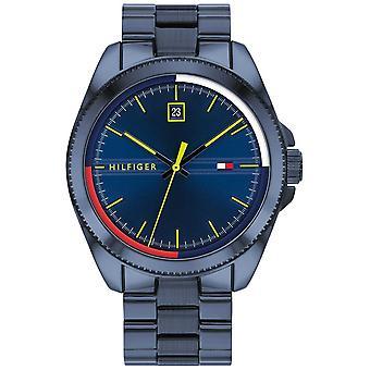 Tommy Hilfiger Riley   Blue IP Steel Bracelet   Blue Dial 1791689 Watch