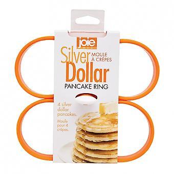 Jo!e Pfannkuchen Ringe Silber Dollar