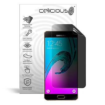 Celicious Privacy Plus 4-Way Anti-Spy Filter Screen Protector Film Compatible with Samsung Galaxy A9 Pro (2016)