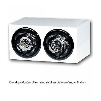 Portax Watchwinder Prismo white 1002372 2 watches piano lacquer