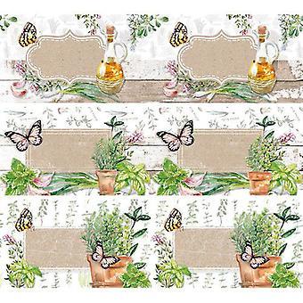 Studio Light shrink foil 318x93 mm Herbs nr 52 SHRINKSL52