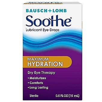 Bausch + lomb lubricant eye drops, long lasting, 0.5 oz