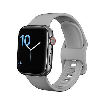 Pulseira Apple Watch 42/44 silicone - Grey
