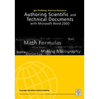 Authoring Scientific and Technical Documents with Microsoft Word 2000 by Podlubny & Igor