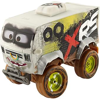 Disney Cars Cars XRS Mud Racing Arvy With Genuine Suspension Metal