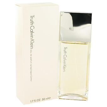 Truth eau de parfum spray by calvin klein 402172 50 ml
