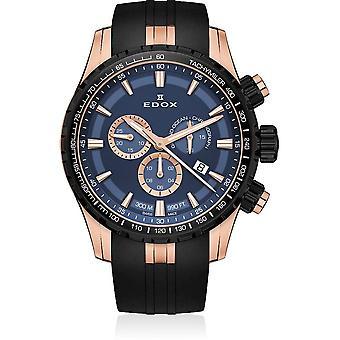 Edox - Wristwatch - Men - Grand Ocean - Chronograph - 10226 37RNCA BUIR