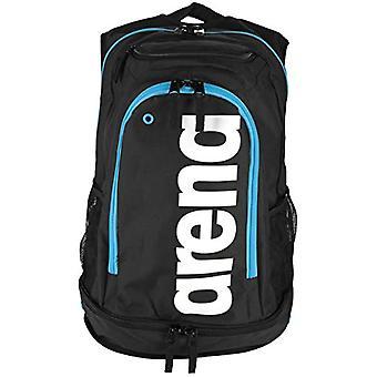 Fastpack Core arena - Unisex Backpacks Adult - Black (Black/Turquoise) - 36x24x45 cm (W x H L)