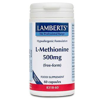 LAMBERTS L-metioniini 500mg korkit 60 (8318-60)