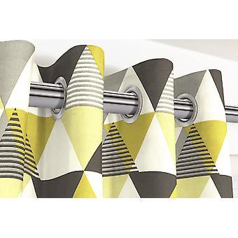 Mcalister Textilien Vita Baumwolle ockergelb enimiert