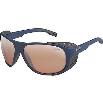 Bolle Outdoor Graphite Sunglasses (Matte Navy Phantom Vermillon Gun)