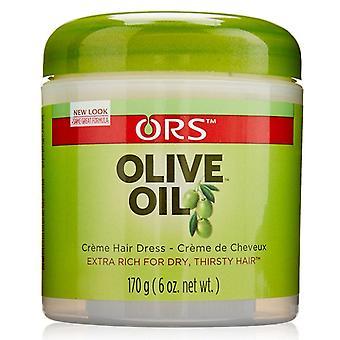 Organic root stimulator olive oil creme hair dress, 6 oz