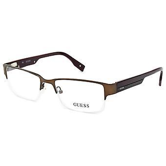 Ladies'Spectacle frame Guess GU1818-BRN (ø 53 mm)
