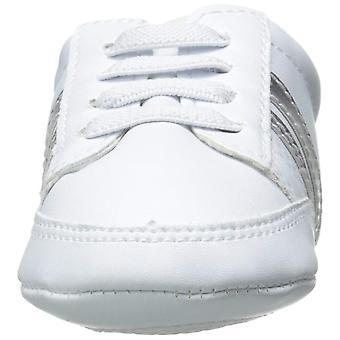 Luvable Friends Basic Stripe Casual Sneaker (Infant)