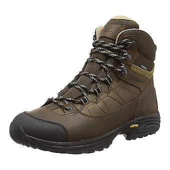AIGLE Mooven Leather and GoreTex Hiking Boots - walking boots Hard wearing sole