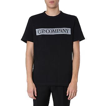 C.p. Company 08cmts150a005674o999 Männer's schwarze Baumwolle T-shirt