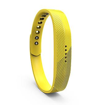 Replacement Wristband Bracelet Band Strap for Fitbit Flex 2[Large,Yellow] BUY 2 GET 1 FREE