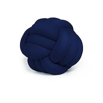 Polyester blau indaktische Farbe dekorative Kissen, L45xP45xA42 cm