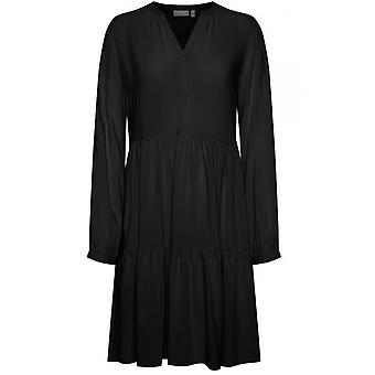 b.young Black Smock Dress
