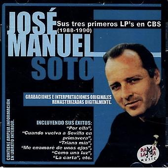 Sus Tres Primeors Lp's En Cbs (1988-1990) [CD] USA import