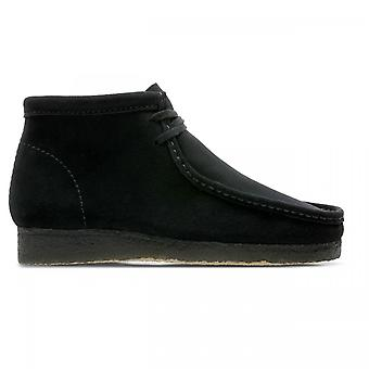 Boot Clarks Wallabee boot zwart