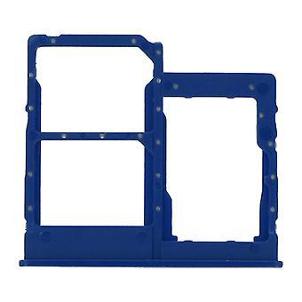 Tavă pentru cartela Dual SIM Dual Blue deschis pentru Samsung Galaxy A40 | iParts4U