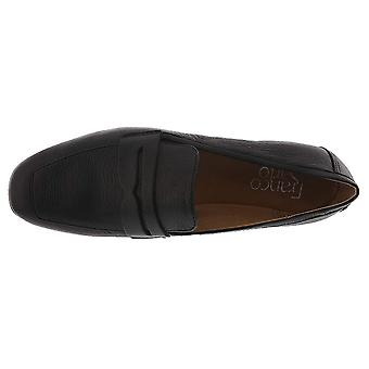 Franco Sarto Womens Dame Leather Almond Toe Loafers