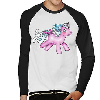My Little Pony Via Lattea Uomini's Baseball T-Shirt a maniche lunghe